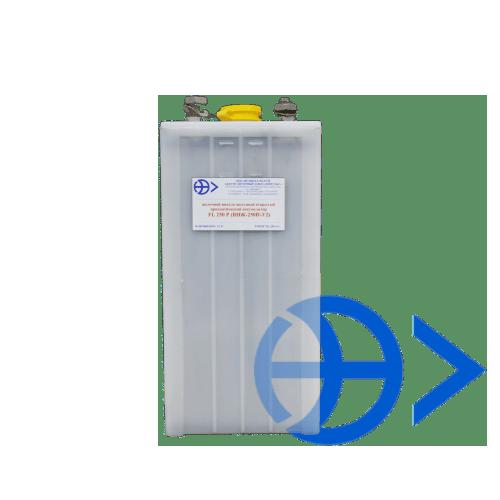 Щелочные никель-железные открытые призматические аккумуляторы FL 250 P (ТНЖ- 250 П-У2)