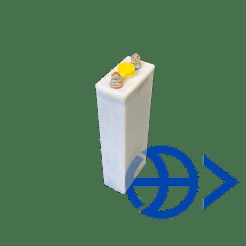 Щелочные никель-железные открытые призматические аккумуляторы FL 350 II KP (ТНЖК- 350 -II П- У2)