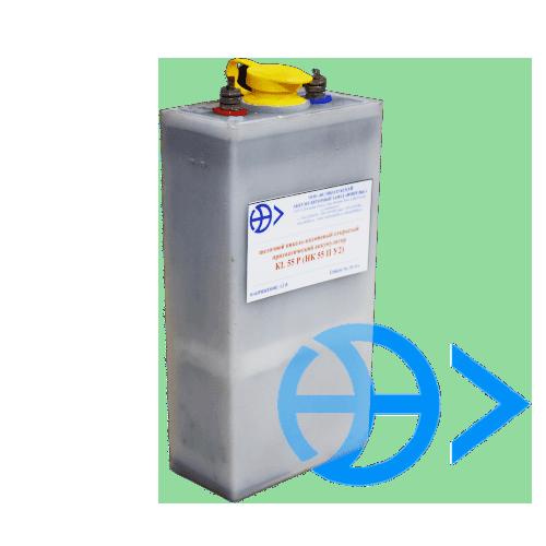 Щелочные никель-кадмиевые открытые призматические аккумуляторы KL 55 P (НК 55 П У2)