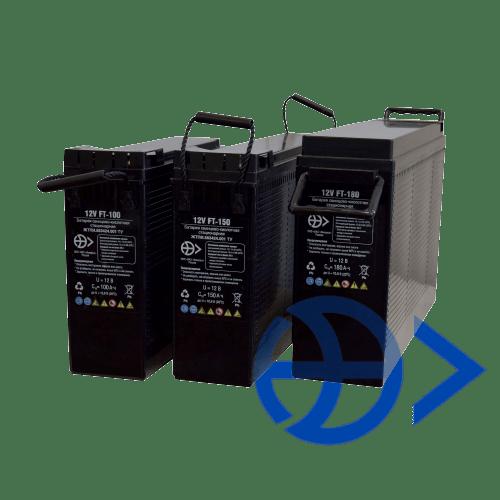 Герметизированные необслуживаемые 12V свинцово-кислотные аккумуляторные батареи серии FT по технологии AGM
